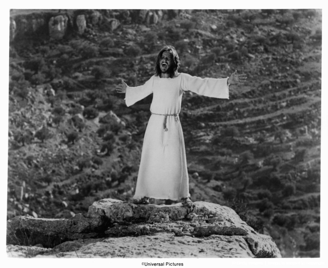 Ted Neeley In 'Jesus Christ Superstar'