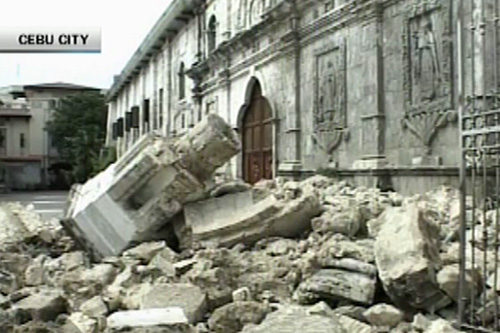 Tagle on church destruction: Nakakadurog ng puso