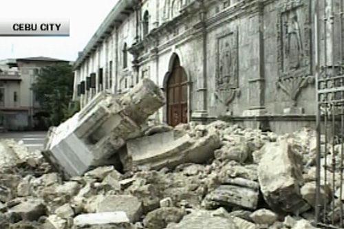 Tagle on church destruction: Nakakadurog ng puso