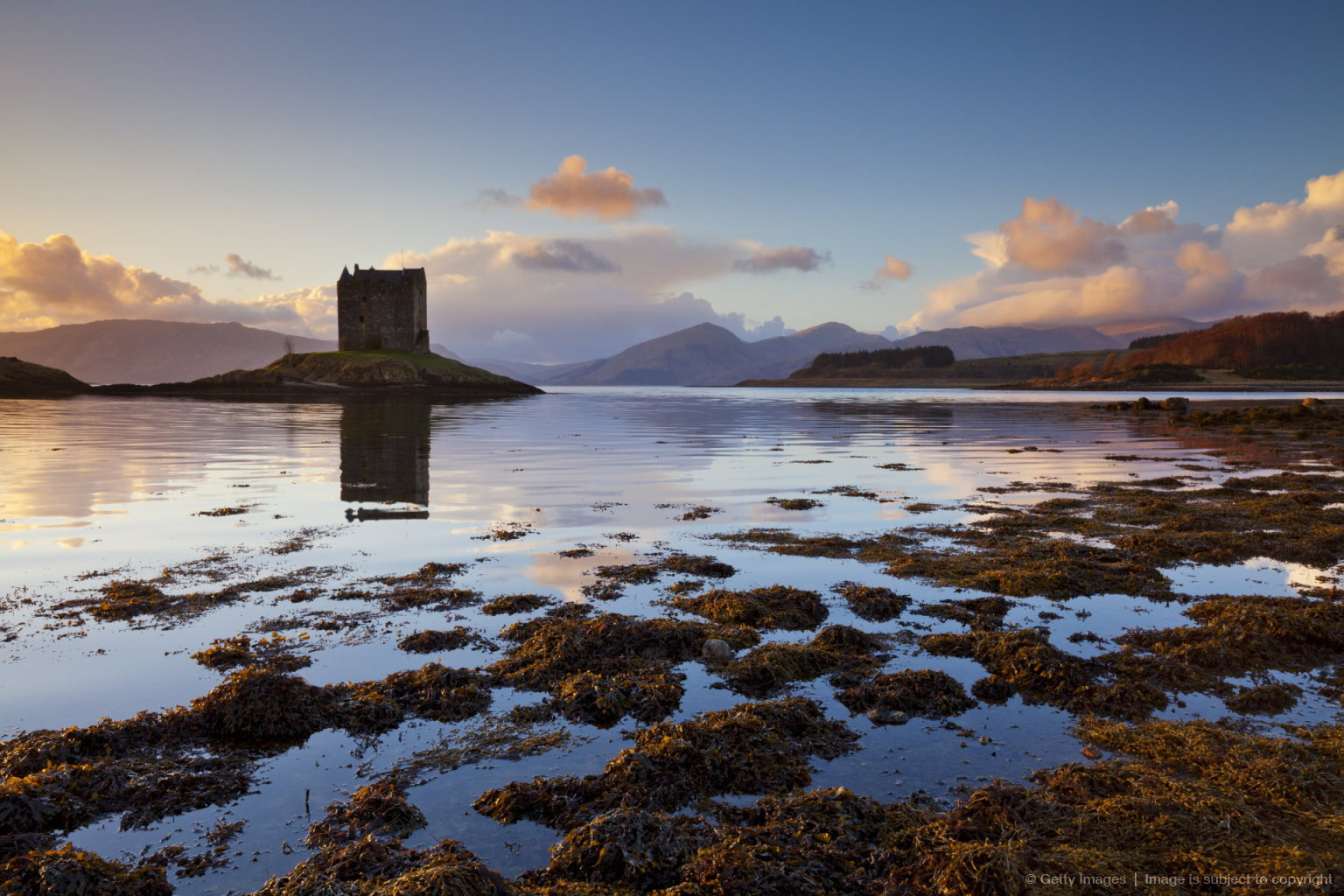 Of castle stalker a tower house or keep used often as a film