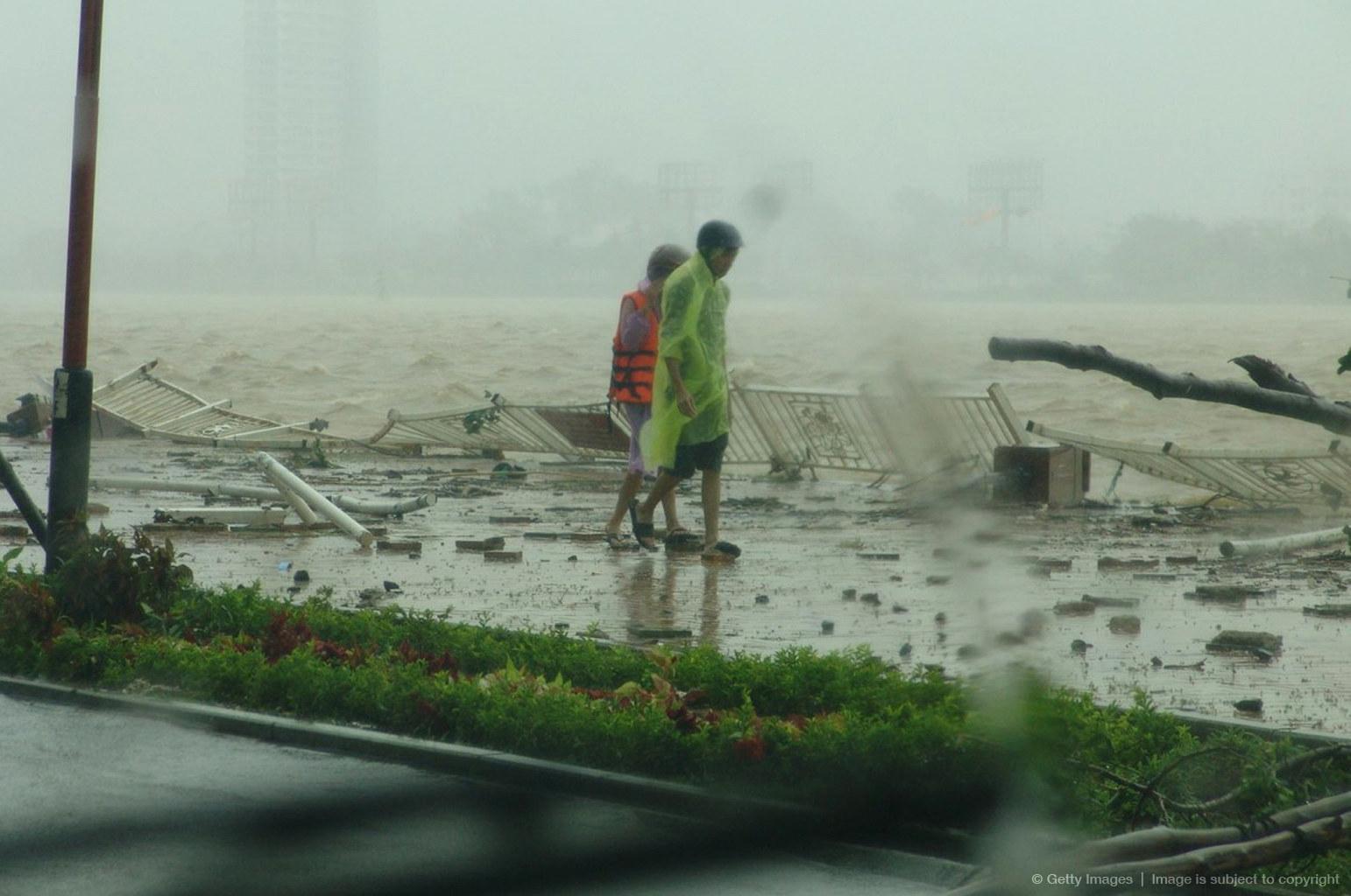 Тайфун во вьетнаме 9 фотография