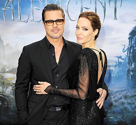 "Brad Pitt Says Being Married to Angelina Jolie Brings ""Added Security,"" Honors the Troops at Fury Screening"
